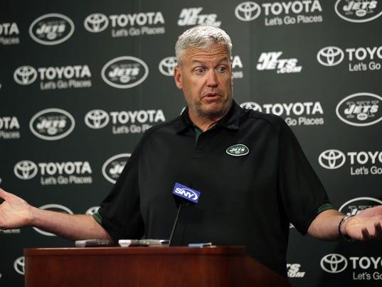 Jets coach Rex Ryan June 19 2014