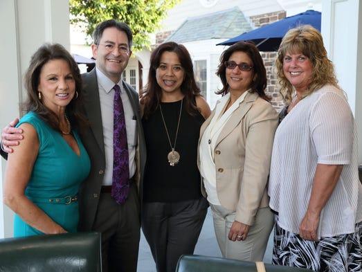Theresa Colarusso, R.N.; Kevin Slavin, M.D.; Sarah