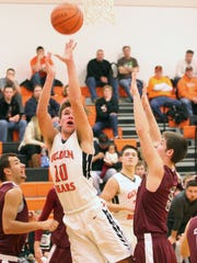 Gibsonburg's Addison Weaver shoots Wednesday in a setback