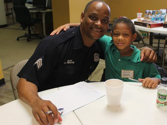 Detroit PAL's Team Up program scores highly with both