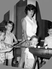 "Barbara Ann Manning took care of one large family after another as a youth in foster care during the 1950s. She wrote a book about her experiences: ""Anybody's Daughter: Grow Up With Me in Foster Care."""