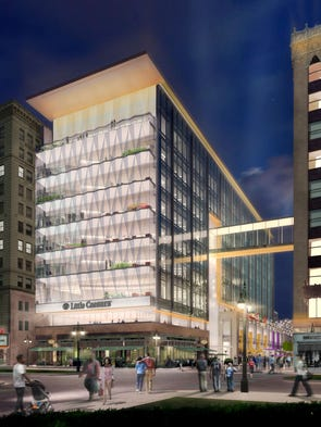 New Little Caesars Headquarters Will Have Windows Shaped