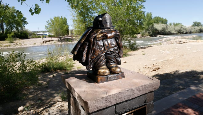 A memorial for the late Lt. Jacob Shadd Rohwer of the Farmington Fire Department will be featured in Animas Park during this weekend's annual Riverfest celebration.