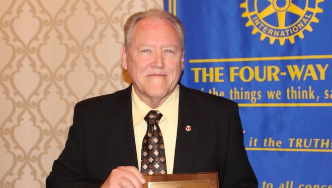 Rotary Club of Salisbury 4-Way Test Award Recipient Ernest Matthews.