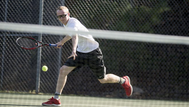 Roberson's Coleman Baker is the Mountain Athletic Conference Player of the Year for boys tennis.