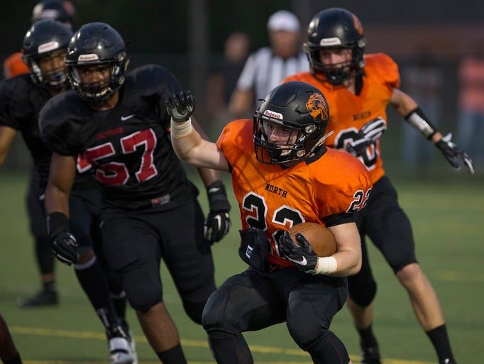 Middletown north soundly defeats neptune in season opener for 66 nail salon neptune nj