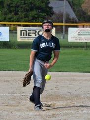 Lauren Esman has become a dominant pitcher her junior