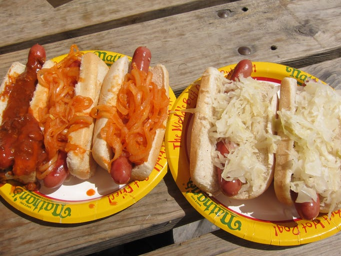Nathan's in Coney Island, N.Y., is the most famous