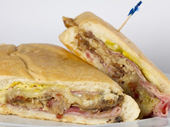 The Cuban sandwich from Casa Rojas Cuban Bakery in Cape Coral.