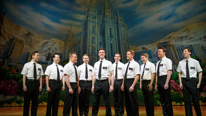 "The touring company of Broadway's ""The Book of Mormon."""