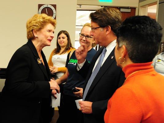 Congressional Candidates seeks votes in Farmington Hills