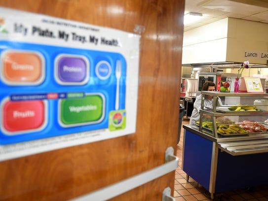 Community Montessori School cafeteria manager Regina