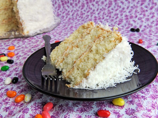 Joe Truskot's coconut cake.