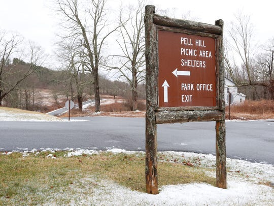 Ward Pound Ridge Reservation in Cross River on Tuesday,