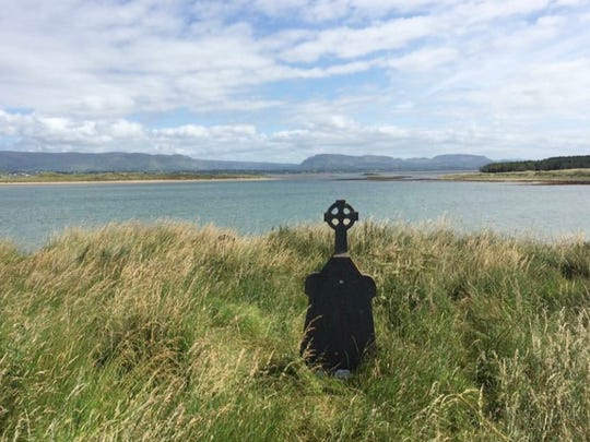 A photo of Ireland shot by Ron Barnett's niece, who shares his Irish heritage.