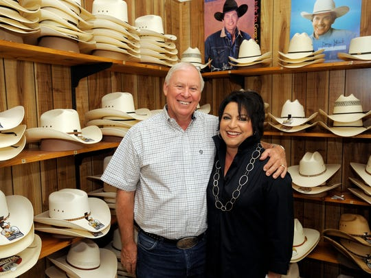 "Broken Arrow Western Wear also known as ""The Squeaky Door Store,"" will be closing shop, with owners Rich and Janice McWilliams, pictured, retiring.  The Broken Arrow is located at 4809 S. Mooney Blvd., Visalia."