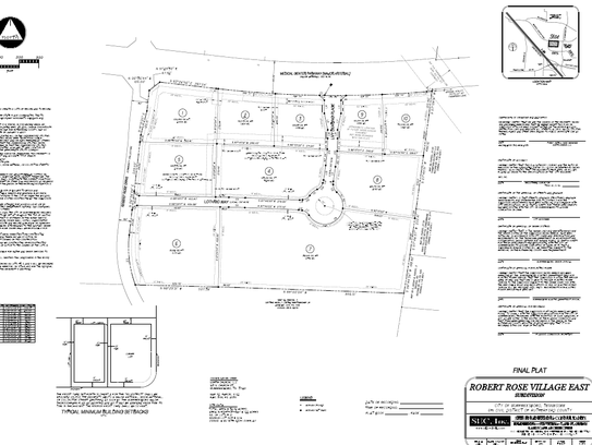 This rendering shows the master plan for Robert Rose