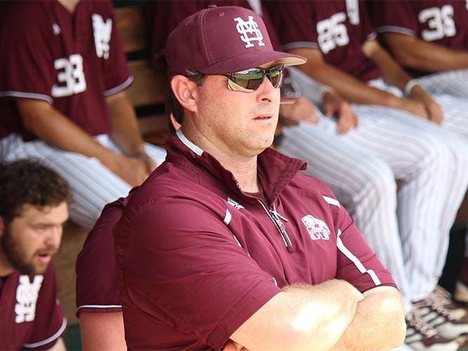 Auburn head coach Butch Thompson spent seven seasons as the pitching coach at Mississippi State under head coach John Cohen.
