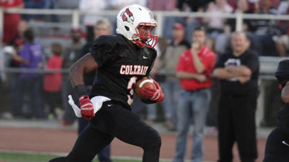 Colerain senior Jordan Asberry committed to West Point.