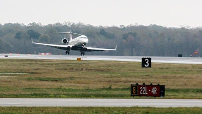 Congressman Clay Higgins has asked the federal government for an additional peak-hour security screening line at Lafayette Regional Airport.