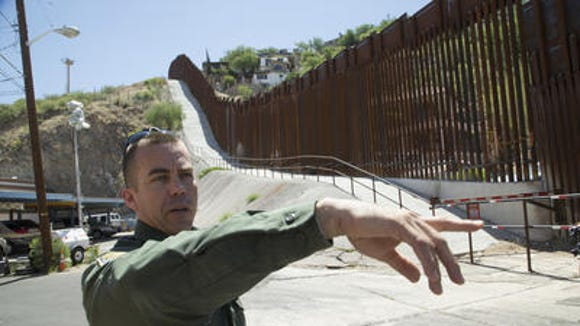 U.S. Customs and Border Protection, PIO Peter Bidegain,