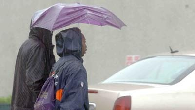 More rain is expected today in parts of Acadiana.