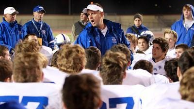 St. Xavier football coach Steve Specht won state titles in 2005 and '07.