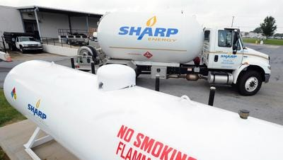 Sharp broke ground on a new headquarters in Wilmington.