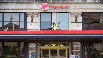 Chemours is said to be a possible takeover target.