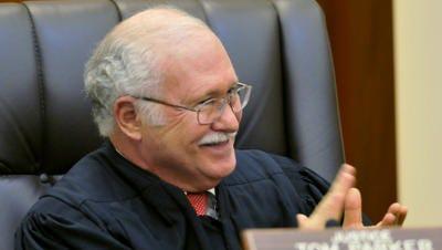 Alabama Supreme Court Justice Tom Parker participates in investiture ceremonies on Jan. 11, 2013.
