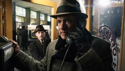 "Tom Hanks stars in Steven Spielberg's ""Bridge of Spies,"" now in local theaters."