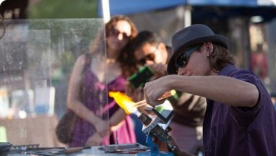 Artisan Markets will continue to have events on Sunday mornings.