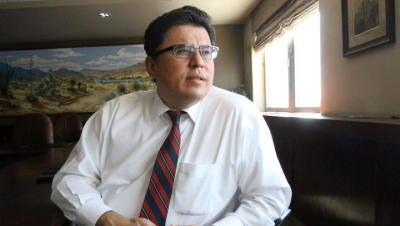 Rolando Pablos left his job as CEO of the Borderplex Alliance on Aug. 31.
