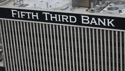 Fifth Third Bancorp in downtown Cincinnati
