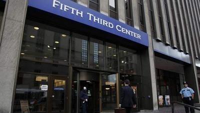 Fifth Third is based in Downtown Cincinnati