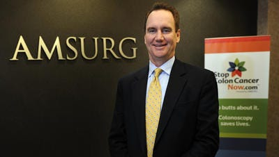 Amsurg CEO Christopher Holden will be CEO of Envision Healthcare Corp.