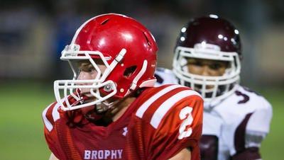 Ex-Brophy Prep tight end/kicker Streator Bates is restarting his football career at Brown University.