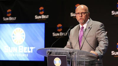 The deal between the Sun Belt, American Sports Network and ESPN calls for a minimum of eight football games and 10 basketball games to be broadcast on cable in 2016-17.