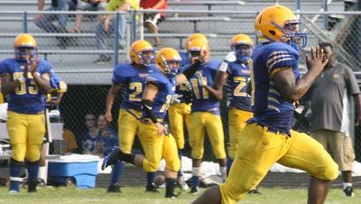Redford Union's Isaac Grant  ran for 157 yards on 20 carries in the Panthers' 41-34 district win over Warren Fitzgerald