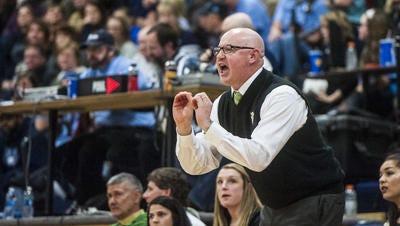 CMR girls' head basketball coach Brian Crosby.