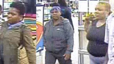 Police are searching for three suspects involved in an assault at a Walmart in Dearborn, Mich., on Monday, Sept. 4, 2017.