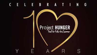 Project HUNGER  celebrated its tenth anniversary on Thursday. The group helps provide local children with food over the summer, when free and reduced-price lunch programs are unavailable.