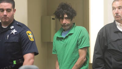 Mark Deludeappears in Vermont Superior Court in Burlington on May 20.
