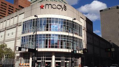 Macy's downtown Cincinnati location