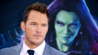 Actor Chris Pratt will drive the pace car for the Brickyard 400.