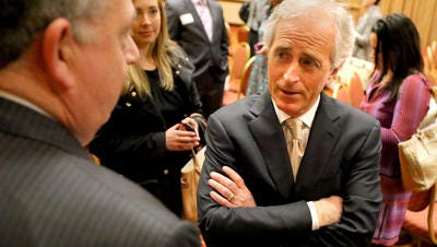 U.S. Sen. Bob Corker still appears to be weighing a run for president.