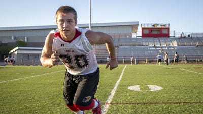 Chaparral strong safety Kurt Shughart played big  as  a sophomore.  He has only gotten bigger, stronger and faster.