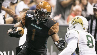 Rod Windsor, who missed last  year's 30-point  loss in San Jose, will have to come up  huge to keep the Rattlers' 18-game winning streak intact.