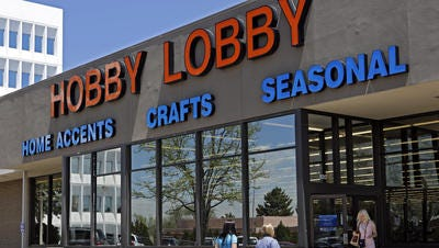 A Hobby Lobby store in Denver as shown in a file photo.