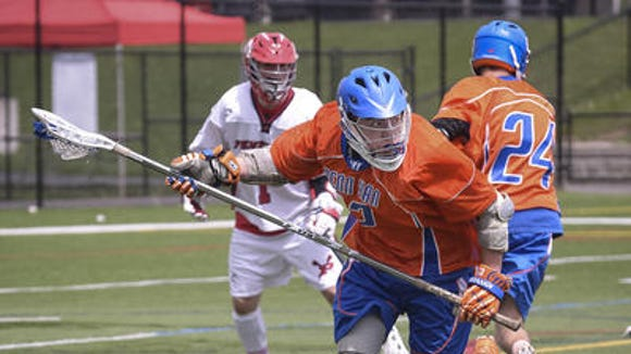 2014 Penn Yan boys lacrosse sophomore Sean Emerson